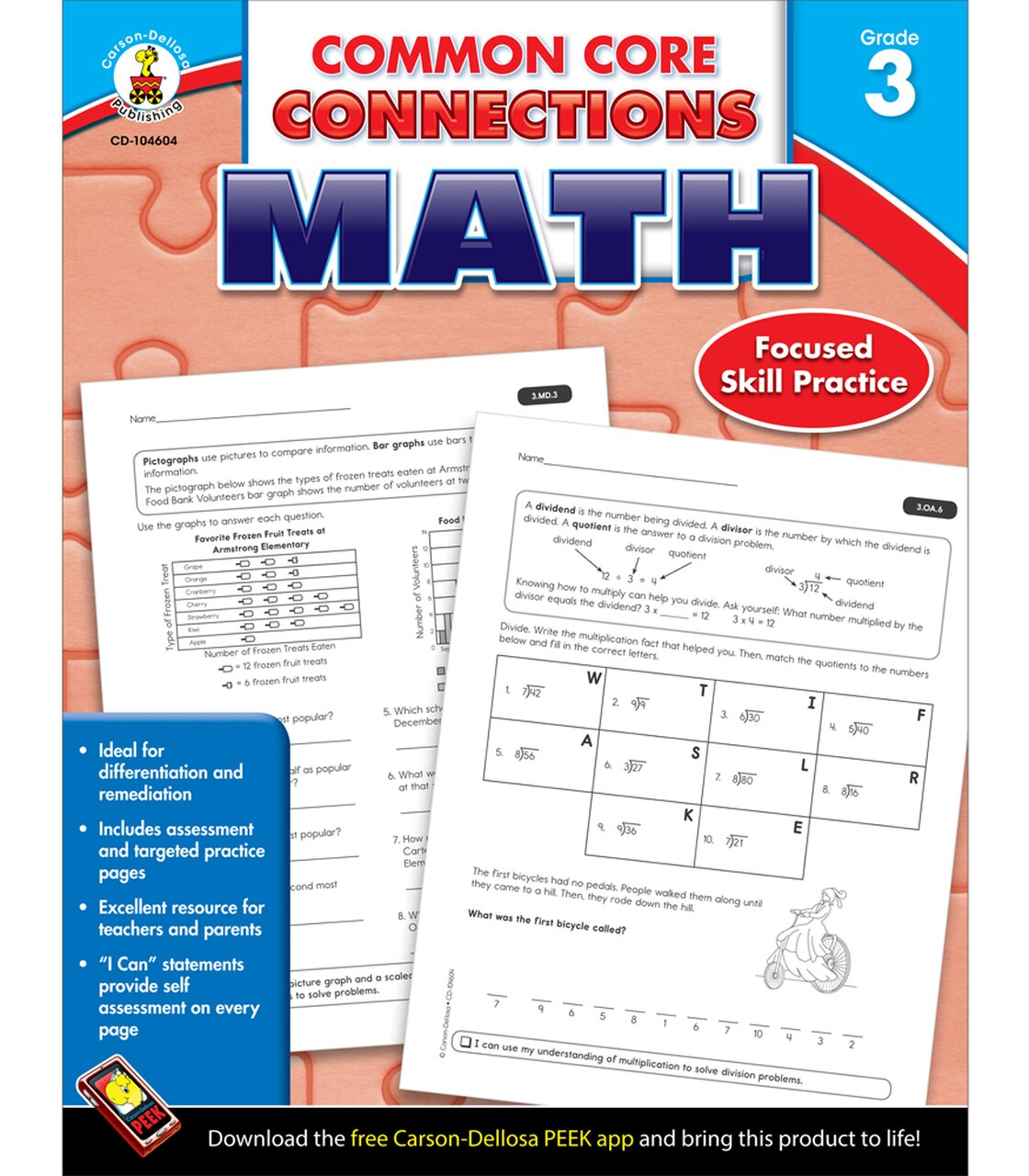 Coloring Book 104604 52951 Math Thirdade Reading List