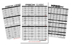 P90X Workout Schedules Fitness P90x Workout Schedule