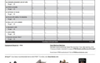 P90X Workout Sheets P90X Ab Ripper X Free PDF Download