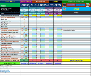 P90x Workouts Chest Shoulders And Triceps Blog Dandk