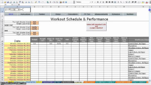 P90x Worksheets Excel Qualads