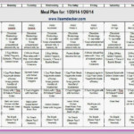 P90X3 Progress Update And Meal Plan P90x Meal Plan