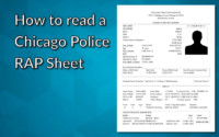 How To Read Your Chicago RAP Sheet YouTube