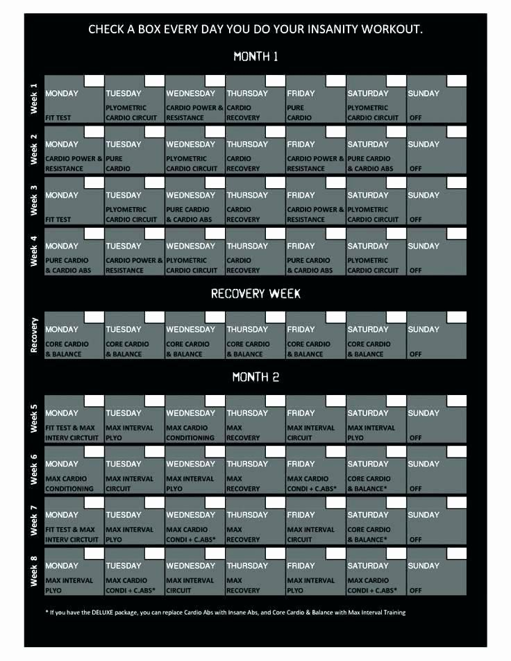 P90x Record Sheets Luxury My Work Out Schedule Workout