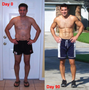 6 Pack Abs With P90X