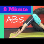 8 Minute Abs Workout W Beauty And The Fit HASfit 8 Min