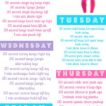 Body Weight Workout DVDs 5 Day Workout Plan 5 Day