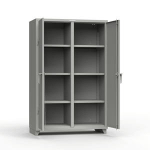 Heavy Duty Lean Series Double Shift Cabinet Strong Hold