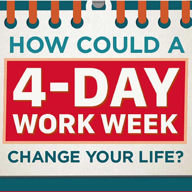 How Could A 4 Day Work Week Change Your Life