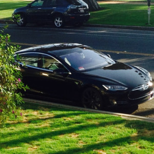 My Buddy Just Got The New Tesla Coolness