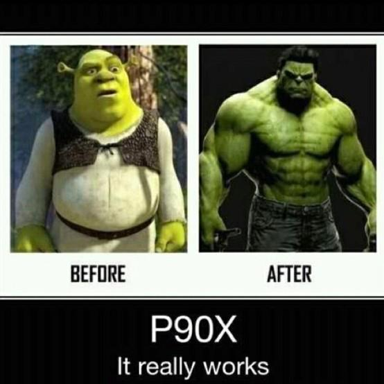 P90X Before And After The Jabberwocky Project