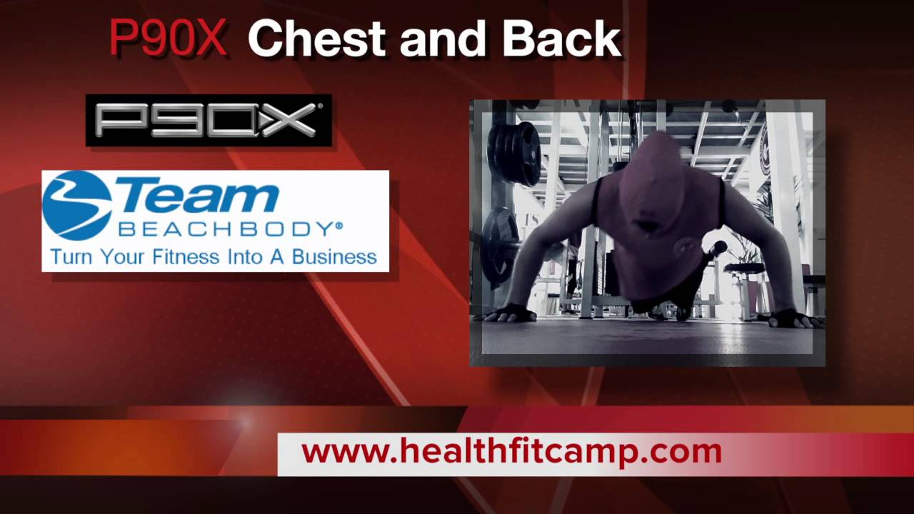 P90X Chest Back And Ab Ripper Day 8 Week 2 YouTube