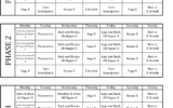 P90X Classic P90x Workout Schedule Lean Workout P90x
