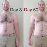 P90X Day 60 Front Comparison Caseyfriday