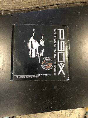 P90X Extreme Home Fitness The Workouts 12 DVD Set Complete