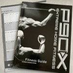 P90X Fitness Guide Book Progress Chart And Intro Dvd