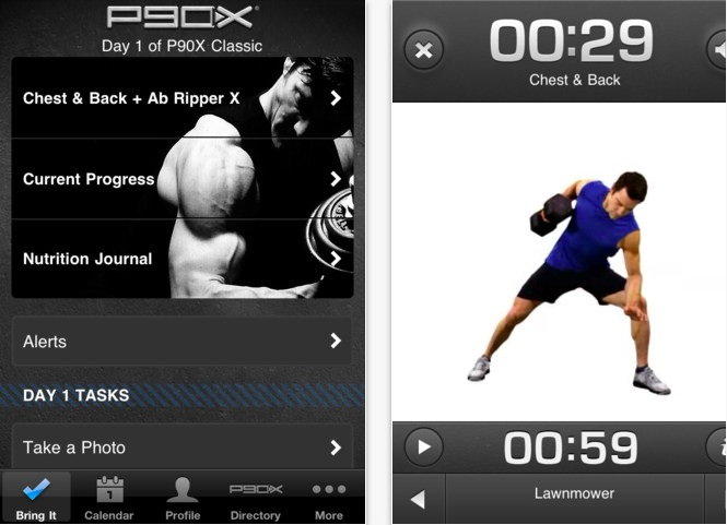 P90X IPhone App Available Your Fitness Path
