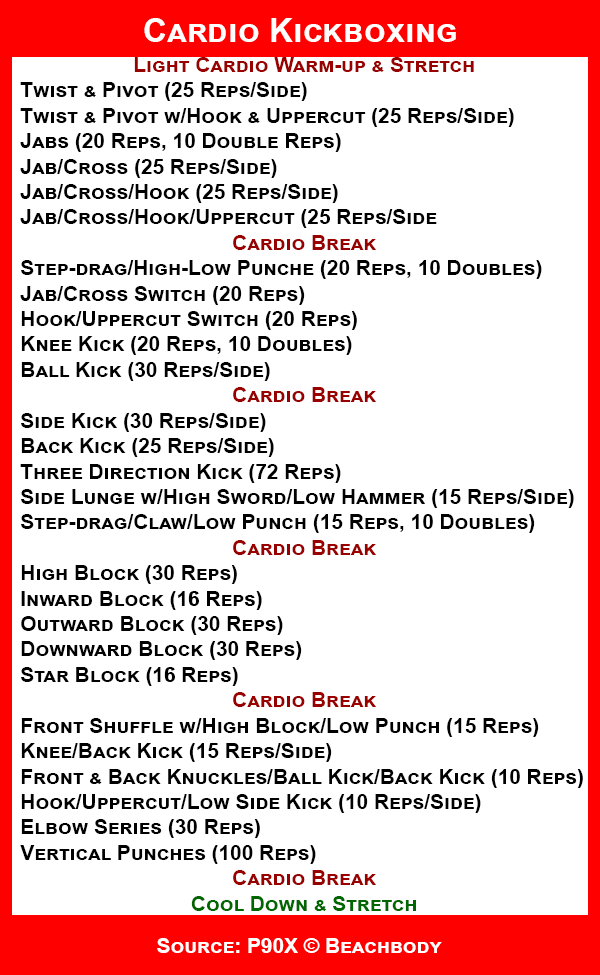 P90x Kenpo X Full Workout EOUA Blog