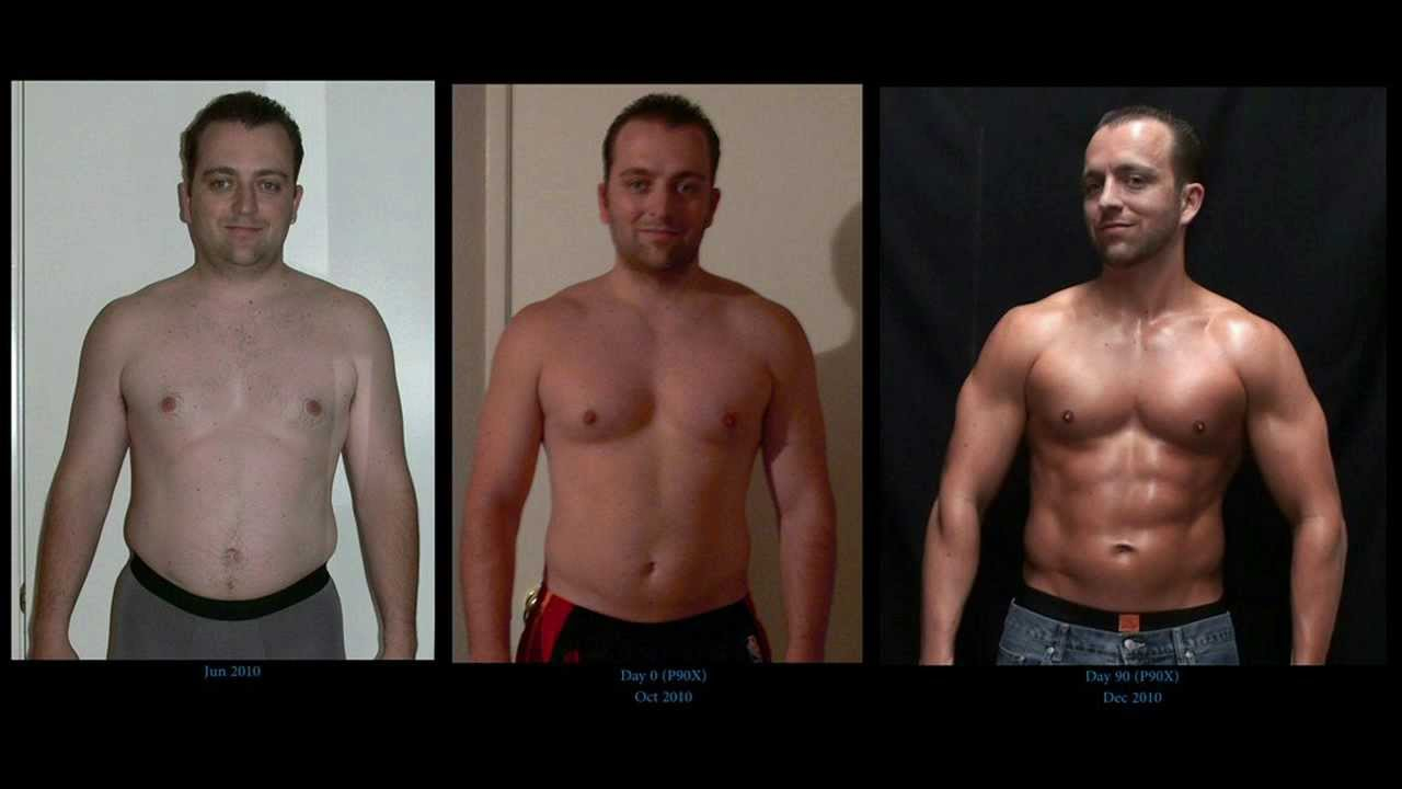 P90X Results David s Updated Transformation Prep For