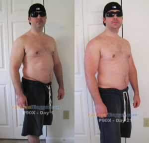 P90X Results Day 21 Pictures And Measurements