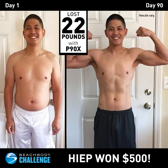P90X Results Down 22 Pounds In 90 Days The Beachbody Blog