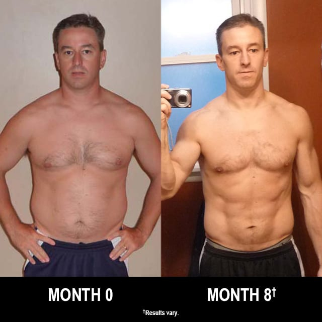 P90X Results This Father Of Five Lost 36 Pounds In Eight