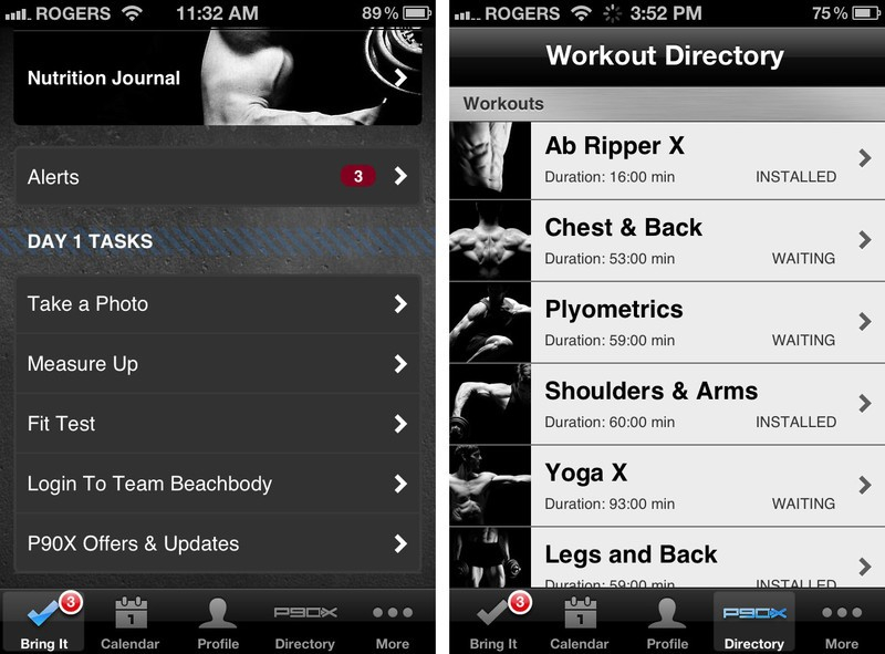 P90X Review Best Bootcamp style Home Fitness App For