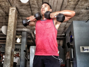 P90X Shoulders And Arms Ab Ripper X Arnel Banawa