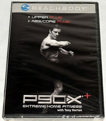 P90X Upper Plus ABS Core Plus Extreme Home Fitness W Tony