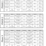 P90x Workout Schedule Health And Fitness Training P90x