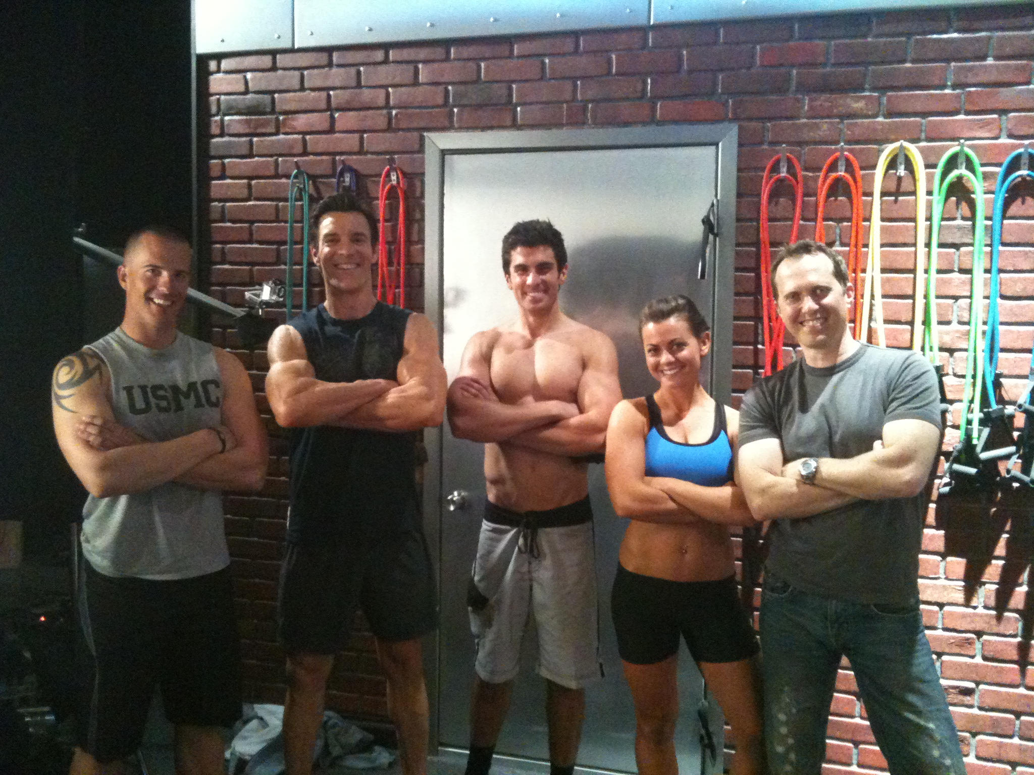 P90X2 Filming Get Ripped At Home