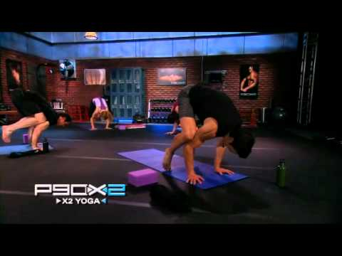 P90X2 Preview X2 Yoga Workout Clip YouTube