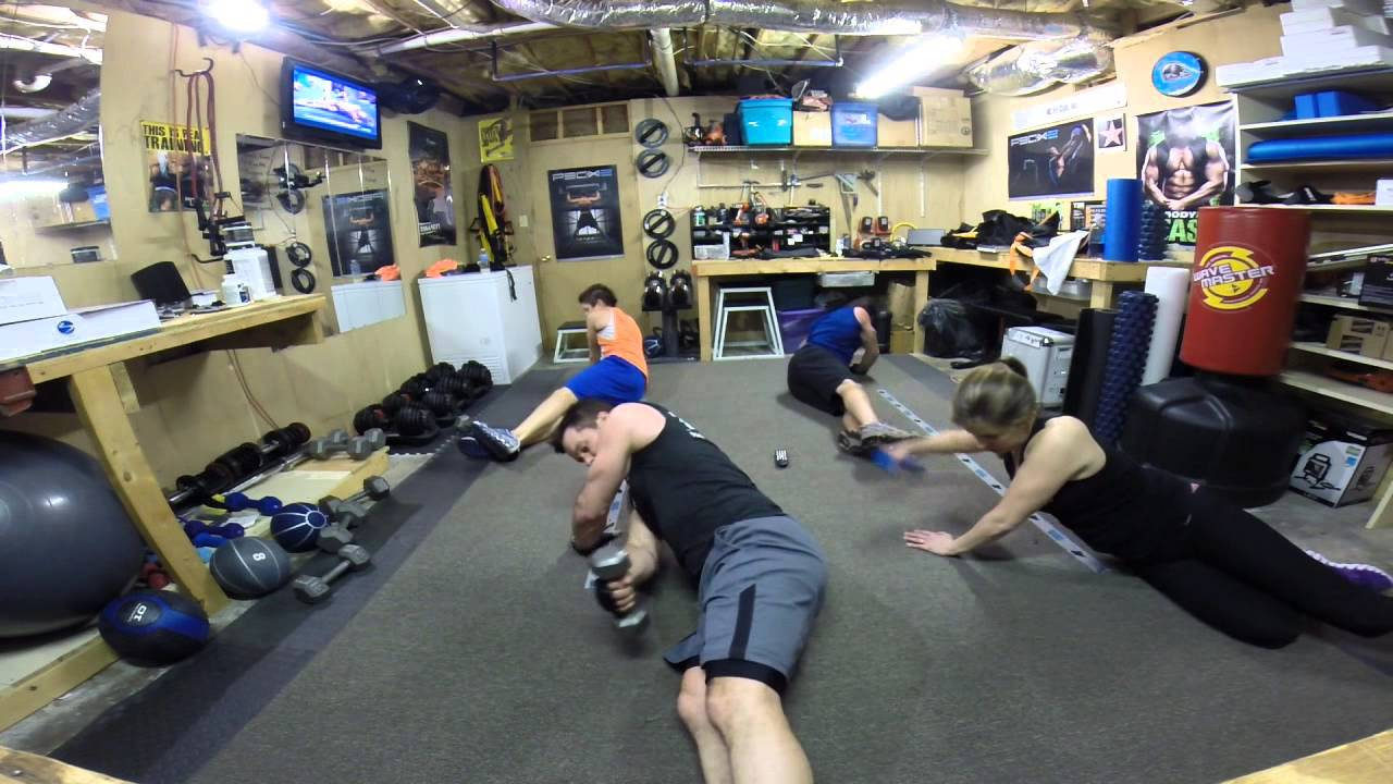 P90X3 Day 8 Total Synergistics And Ab Ripper NC FIT