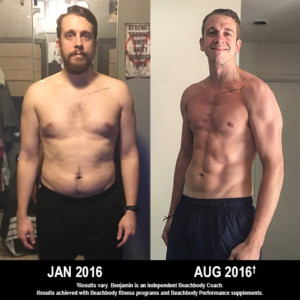 P90X3 Results This Former College Athlete Lost 38 Pounds