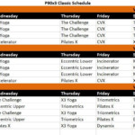 P90x3 Schedule Workout Download Free Mar 2020