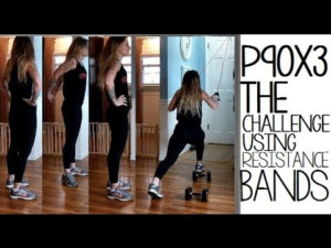 P90X3 The Challenge w o Pull Up Bar YouTube