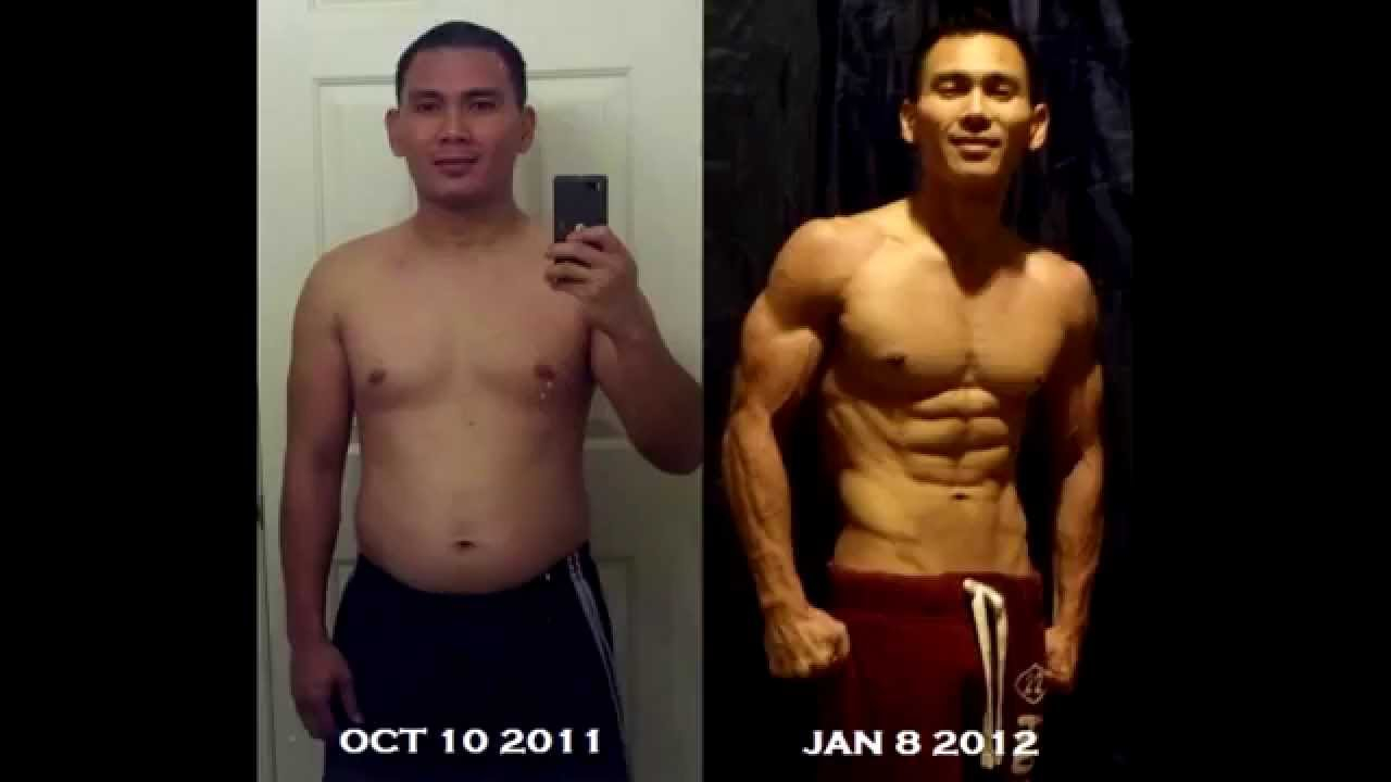 Ron H AMAZING P90X 90 Day Weight Loss Transformation