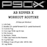 The Complete Guide To P90x Ab Ripper X The Only One