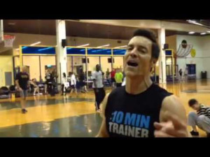 Tony Horton Does A Live P90X P90X2 And 10 Minute Trainer