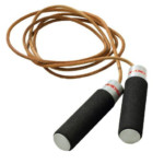 Weider Adjustable Weight Leather Jump Rope 14 03 26 OFF