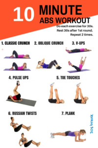10 Minute Workouts For Busy People Who Want A Better Body