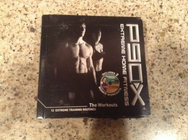 Beach Body Workout P90x Extreme Home Fitness DVD For Sale