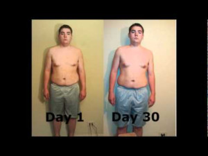 P90x 30 Day Results Fat Kid wmv YouTube