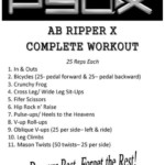 P90X Ab Ripper Abs Workout