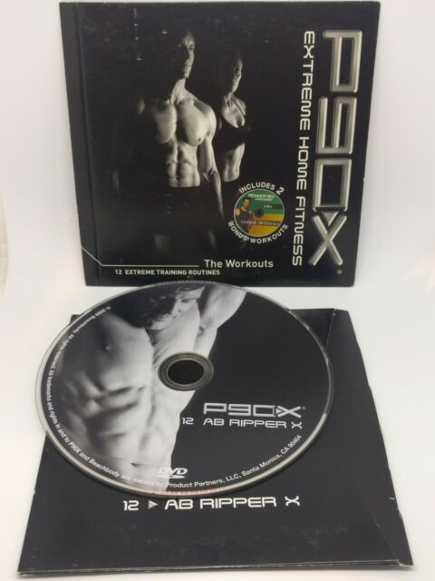 P90x AB Ripper X DVD Disc 12 For Sale Online EBay