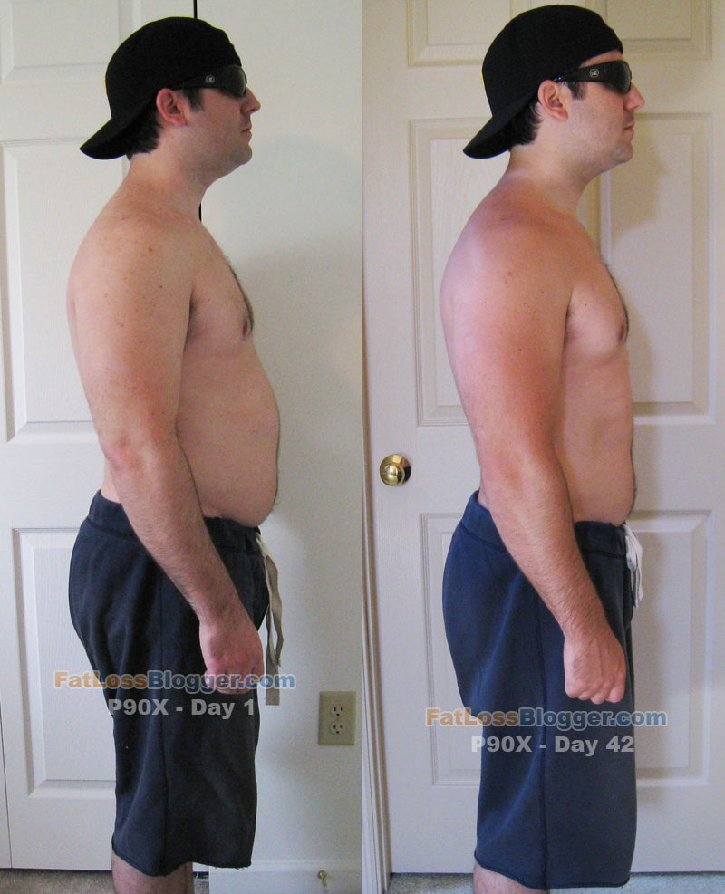 P90X Before And After Pictures And Measurements Day 42