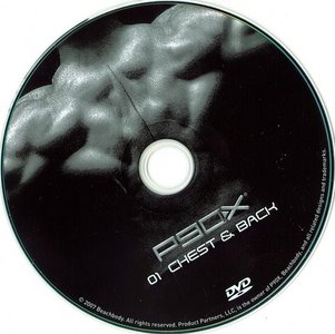 P90X Extreme Home Fitness DVD01 Chest And Back Repost