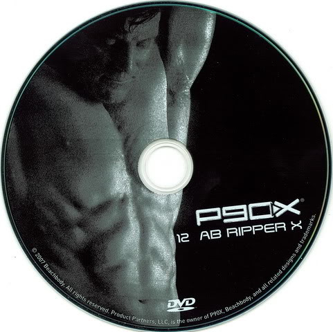 P90X Extreme Home Fitness DVD12 Ab Ripper X AvaxHome