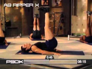 P90X Extreme Home Fitness Workout Program Sample Work