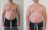 P90X Program Results Day 28 Pictures And Measurements